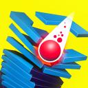 แอปเกมส์ Stack Ball - ระเบิดผ่านแพลตฟอร์ม